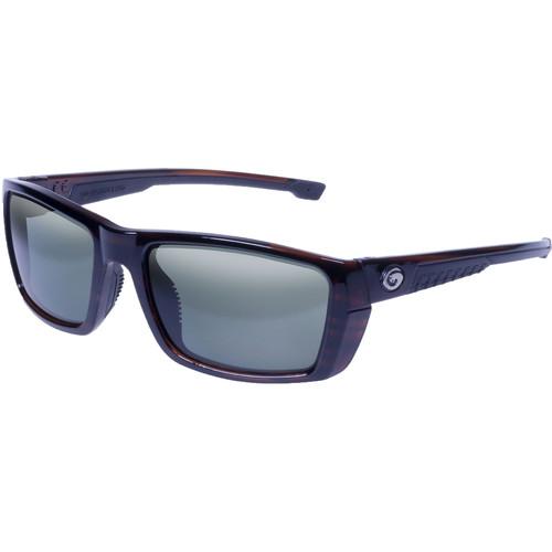 Gargoyles Siege Polarized Sunglasses (Tortoise Frame, Green Lenses)