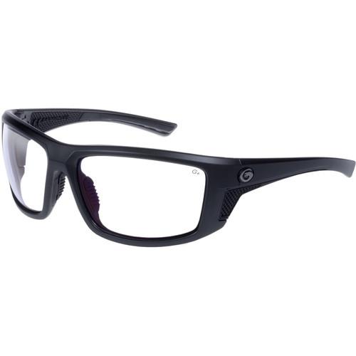 Gargoyles Stance Ballistic Sunglasses (Matte Metallic Graphite Frame, Clear Lenses)