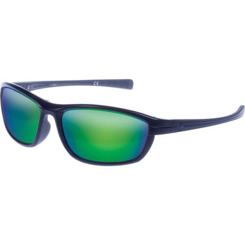 Gargoyles Kinser Sunglasses (Matte Black Frame, Smoke Lenses)