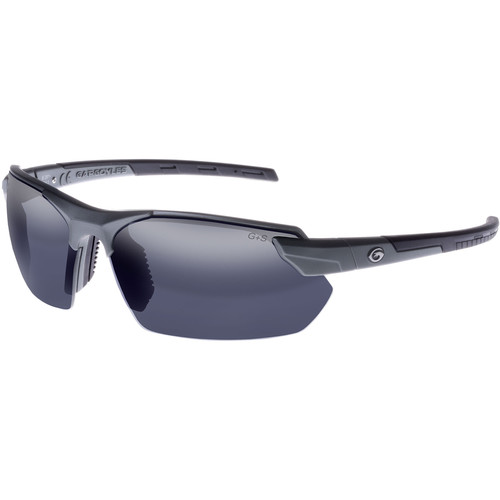 Gargoyles Vortex Polarized Sunglasses (Matte Metallic Graphite Frame, Smoke Lenses)