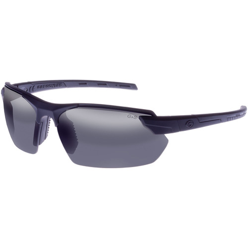 Gargoyles Vortex Sunglasses (Matte Black Frame, Smoke Lenses)