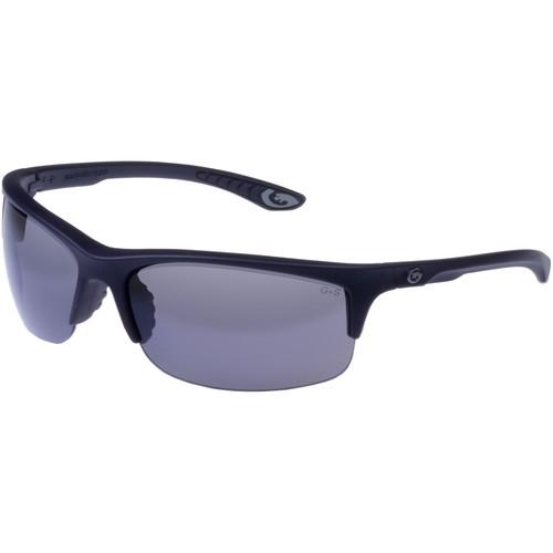 Gargoyles Flux Polarized Sunglasses (Matte Black Frame, Smoke Lenses)
