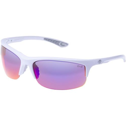 Gargoyles Flux Sunglasses (White Frame, Smoke/Plasma Lenses)