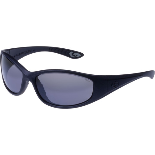 Gargoyles Shakedown Polarized Sunglasses (Matte Black Frame, Smoke Lenses)