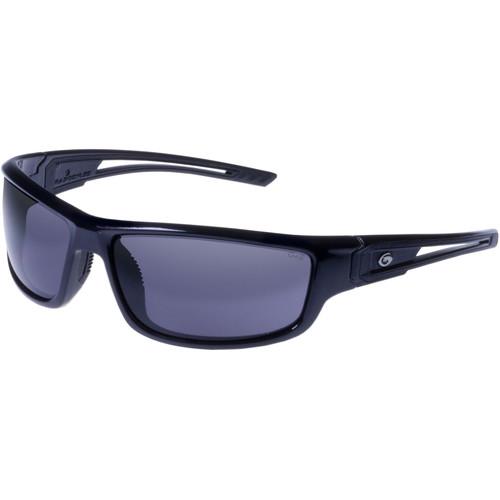 Gargoyles Squall Sunglasses (Black Frame, Smoke Lenses)