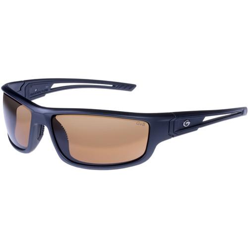 Gargoyles Squall Sunglasses (Matte Metallic Graphite Frame, Amber Lenses)