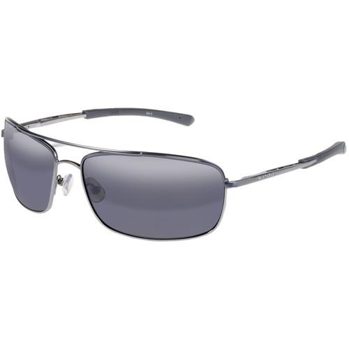 Gargoyles Barricade Sunglasses (Matte Gun Frame, Smoke Lenses)