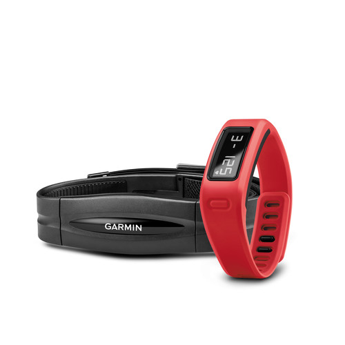 Garmin vivofit Fitness Band with Heart Rate Monitor (Red)