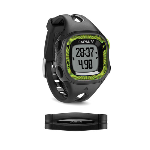 Garmin Forerunner 15 Bundle (Small, Black/Green)
