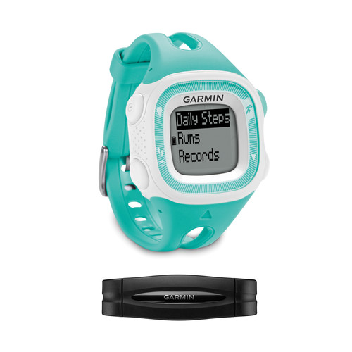 Garmin Forerunner 15 Bundle (Small, Teal/White)