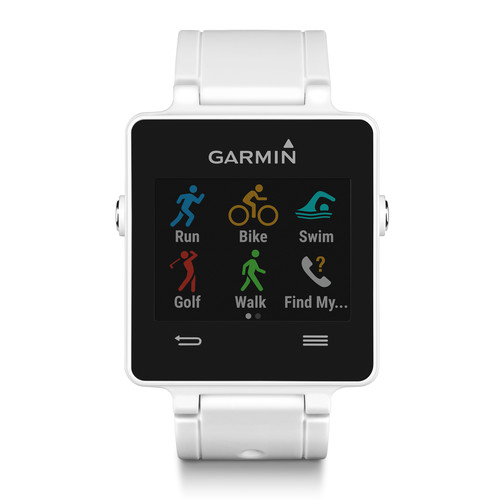 Garmin vivoactive Sport Watch with Heart Rate Monitor (White)