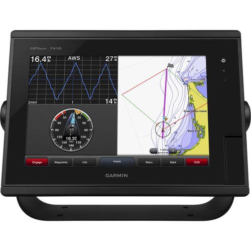 "Garmin GPSMAP 7410 10"" Fully-Network Capable Chartplotter with J1939 Engine Data Port"