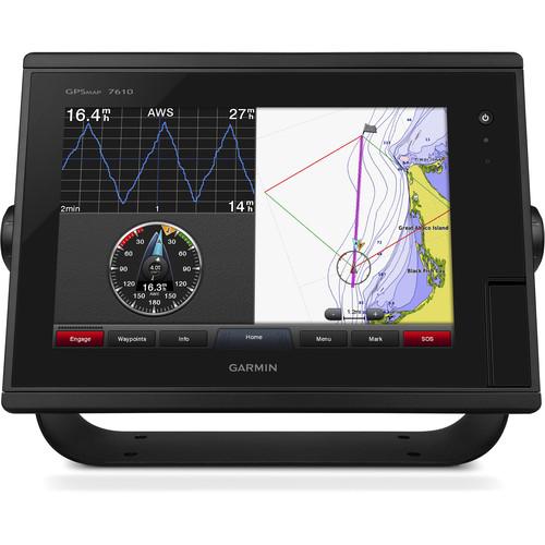 "Garmin GPSMAP 7610 10"" Fully-Network Capable Chartplotter with J1939 Engine Data Port"