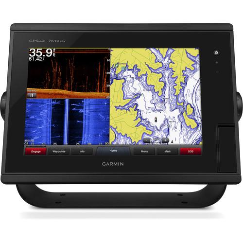 "Garmin GPSMAP 7610xsv 10"" Multi-Touch Widescreen Chartplotter/Sonar Combo"