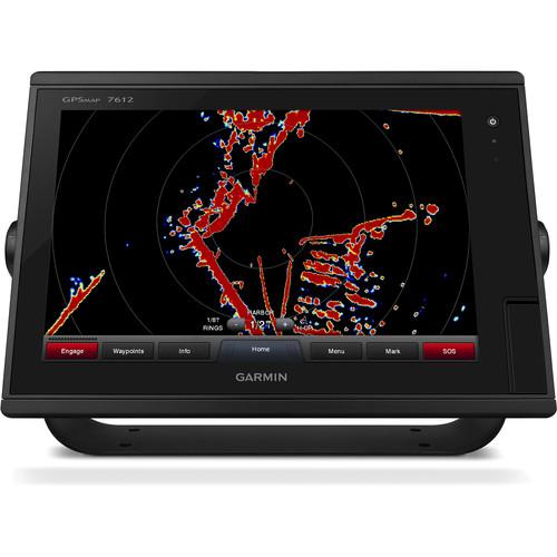 "Garmin GPSMAP 7612 12"" Fully-Network Capable Chartplotter with J1939 Engine Data Port"