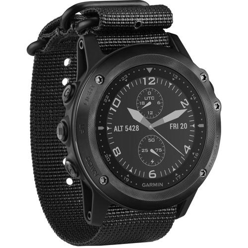 Garmin tactix Bravo Multi-Sport Training GPS Watch (Black Nylon Strap)