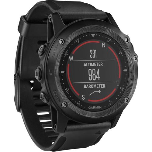 Garmin tactix Bravo Multi-Sport Training GPS Watch (Black Silicone Band)