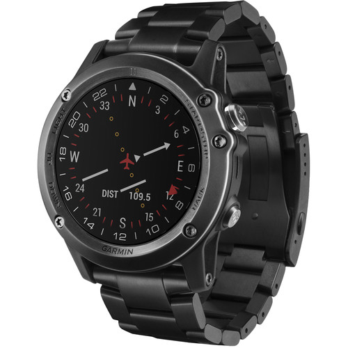 Garmin D2 Bravo GPS Aviator Navigation Watch (Titanium Band)