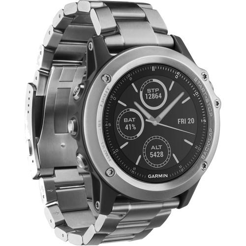 Garmin fenix 3 Sapphire Multisport Training GPS Watch (Titanium with Titanium Band)