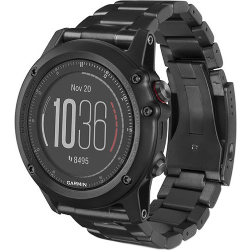 Garmin fenix 3 HR Multi-Sport Training GPS Watch (Titanium, Titanium Band