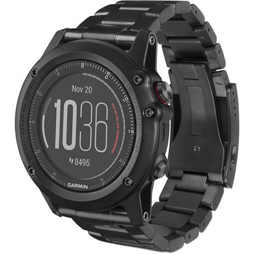 Garmin fenix 3 HR Multi-Sport Training GPS Watch (Titanium, Titanium Band