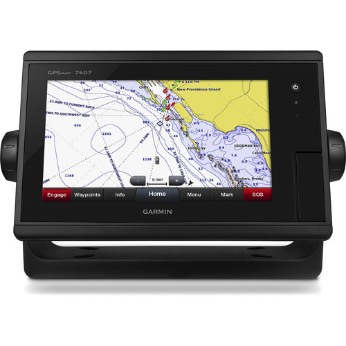 "Garmin GPSMAP 7607 7"" Fully-Network Capable Chartplotter with J1939 Engine Data Port"