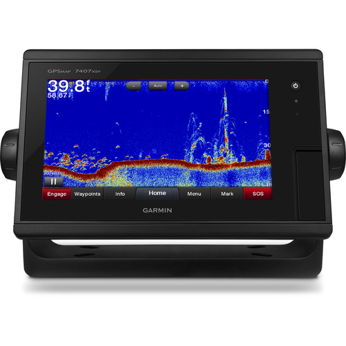 "Garmin GPSMAP 7407xsv 7"" Multi-Touch Widescreen Chartplotter/Sonar Combo"