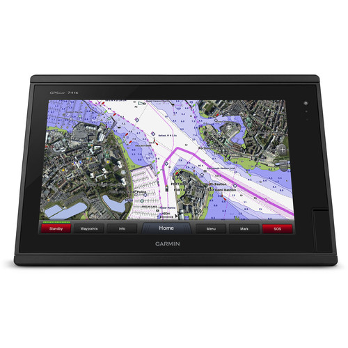 "Garmin GPSMAP 7416 16"" Fully-Network Capable Chartplotter with J1939 Engine Data Port"
