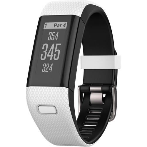Garmin Approach X40 Golf and Activity Tracker (Regular, White/Black Band)
