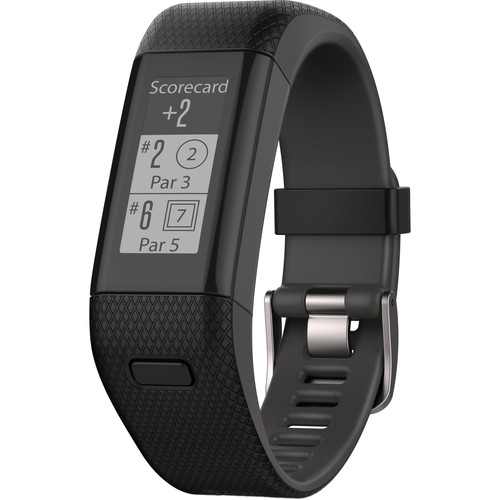 Garmin Approach X40 Golf and Activity Tracker (Extra Large, Black/Gray Band)