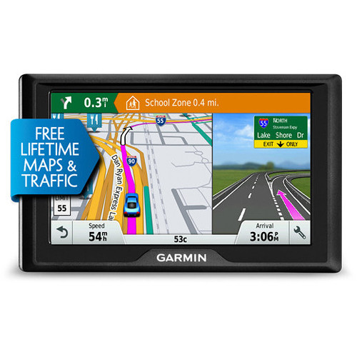 Garmin Drive 50 LMT Navigation System (U.S. & Canada, Lifetime Maps & Traffic)