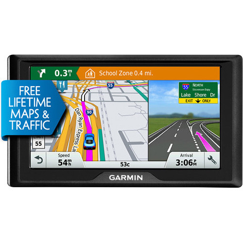 Garmin Drive 60 LMT Navigation System (U.S., Lifetime Maps & Traffic)