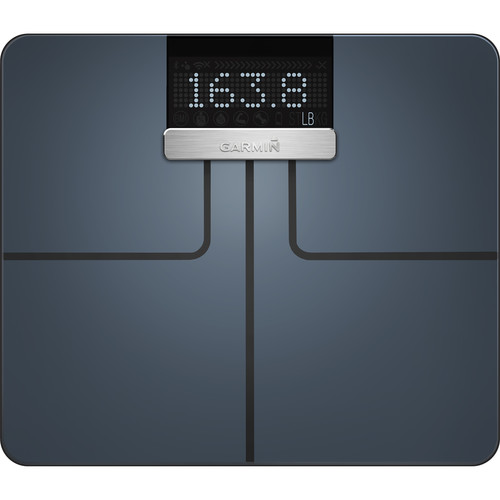 Garmin Index Wi-Fi Smart Scale (Black)