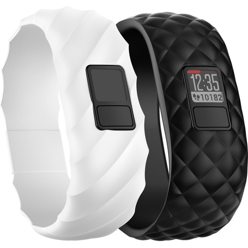 Garmin vivofit 3 Activity Tracker (Gabrielle Series, White/Black, Regular)