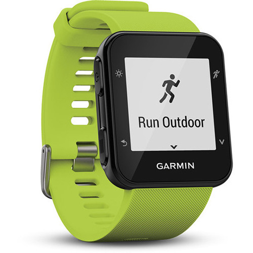 Garmin Forerunner 35 GPS Running Watch with Wrist-Based Heart Rate (Limelight)