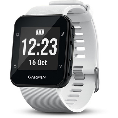 Garmin Forerunner 35 GPS Running Watch with Wrist-Based Heart Rate (White)