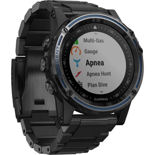 Garmin Descent Mk1 Dive Watch (Gray Sapphire with DLC Titanium Band)