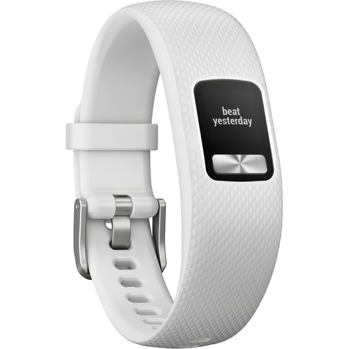 Garmin vivofit 4 Activity Tracker (Small/Medium, White)
