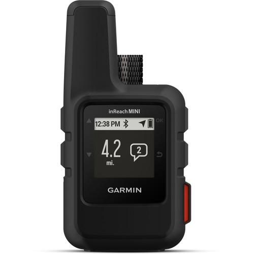 Garmin inReach Mini Satellite Communicator (Black) (Satellite Subscription Required)
