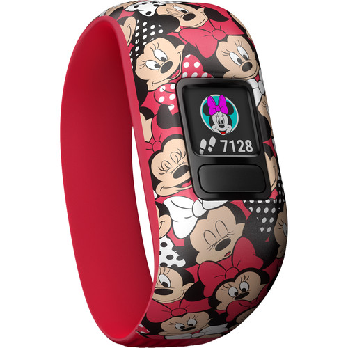 Garmin vívofit jr. 2 Activity Tracker (Stretchy Minnie Mouse Band)