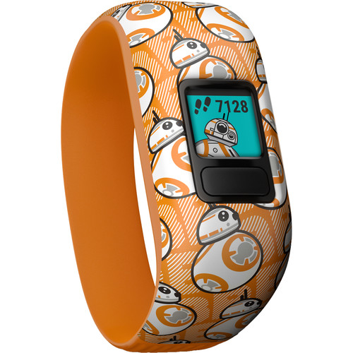 Garmin vívofit jr. 2 Activity Tracker (Stretchy BB-8 Band)