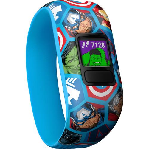 Garmin vívofit jr. 2 Activity Tracker (Stretchy Avengers Band)