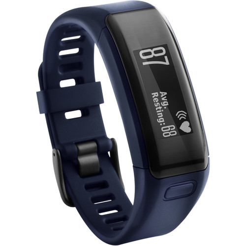 Garmin vivosmart HR Activity Tracker with Wrist-Based Heart Rate Monitor (Regular, Midnight Blue)