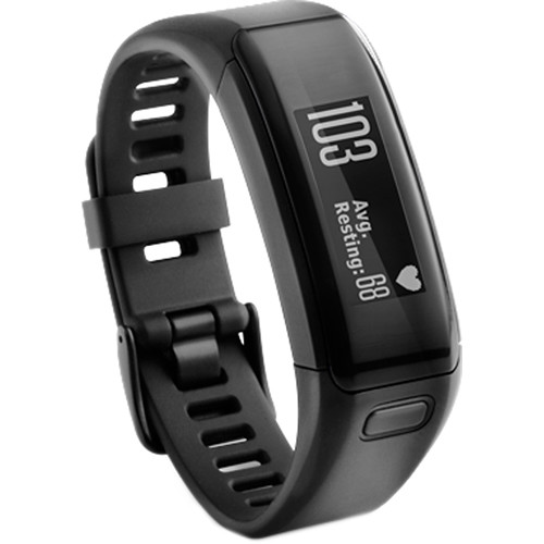 Garmin vivosmart HR Activity Tracker with Wrist-Based Heart Rate Monitor (Extra Large, Black)
