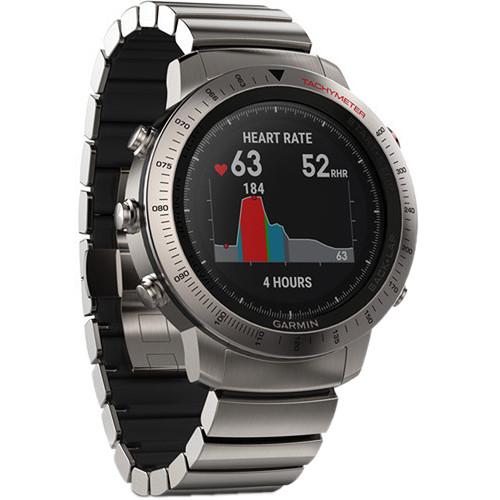 Garmin fenix Chronos Multi-Sport GPS Watch (Titanium Case with Titanium Hybrid Band)