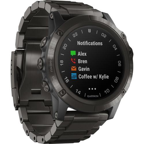 Garmin D2 Delta PX Aviator Watch (51mm, DLC Titanium Band)