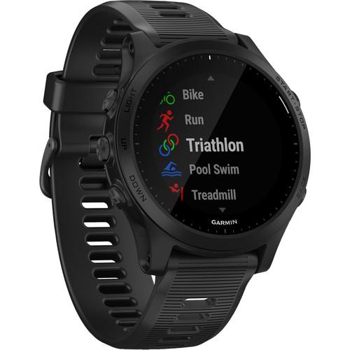Garmin Forerunner 945 Music GPS Running/Triathlon Smartwatch (Black)