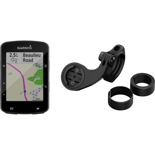 Garmin Edge 520 Plus GPS/GLONASS Cycling Computer Mountain Bike Bundle