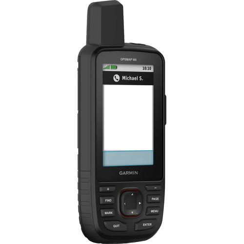 Garmin GPSMAP 66i Handheld Navigator and Satellite Communicator