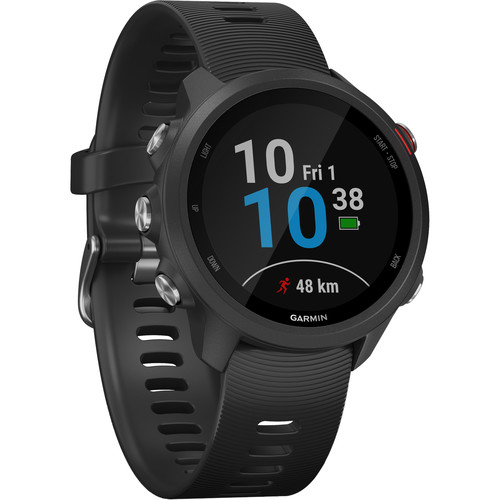 Garmin Forerunner 245 Music GPS Running Smartwatch (Black)